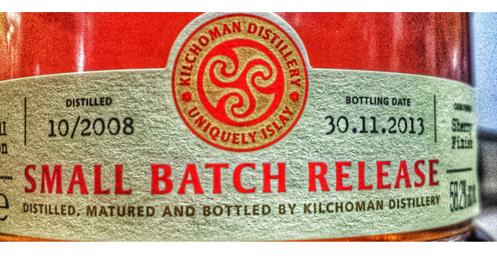Kilchoman Small Batch Release 2013 Sherry