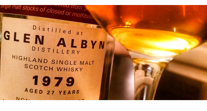 GlenAlbyn 1979 Part Des Anges,Glen Albyn 1979 Part Des Anges 27 Years Old,Glen Albyn 1979,Part Des Anges,closed distillery,Speyside,27,cask strength,Glen Albyn 1979,Glen Albyn 1979 review,Glen Albyn 1979 tasting notes,single malt