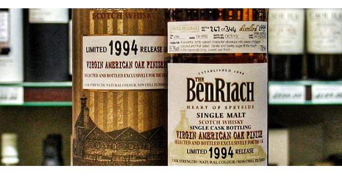 BenRiach 1994 Virgin Oak,BenRiach 1994 Virgin Oak Single Cask,BenRiach 1994 Virgin Oak Single Cask review,BenRiach 1994 Virgin Oak,BenRiach 1994 Virgin Oak review,BenRiach 1994,BenRiach 1994 review,tasting notes,review,speyside,benriach,whisky,whisky review,whisky tasting,single malt,single malt review,single malt tasting notes,scotch,scotland
