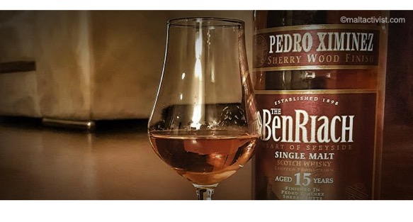 BenRiach 15 PX Sherry,Benriach 15 Year old PX Sherry Wood Finish,tasting notes,review,BenRiach 15,PX Sherry,single malt,single malt review,single malt tasting notes,whisky,whisky review,whisky tasting,speyside,89