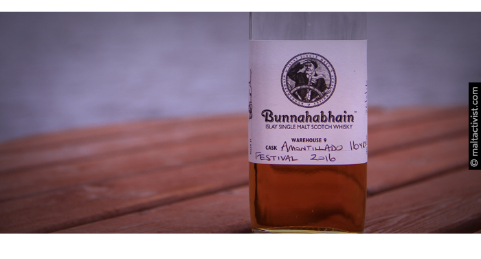 Bunnahabhain 16 2016 Feis Ile,Bunnahabhain 16 Amontillado,Bunnahabhain 16 Amontillado review,Bunnahabhain 16 Amontillado tasting notes,Bunnahabhain 16,Bunnahabhain 16 review,Bunnahabhain 16 tasting notes,Bunnahabhain,islay,single malt,single malt review,single malt tasting notes,whisky,whisky review,whisky tasting,islay