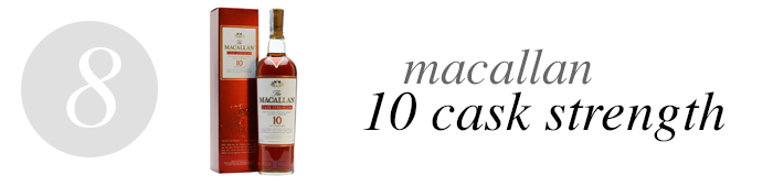 08 Macallan 10 Cask Strength