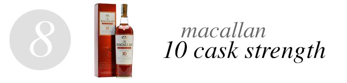 08 Macallan 10 Cask Strength